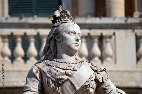 Fotografie, Obraz Queen Victoria Memorial in Valetta, Malta