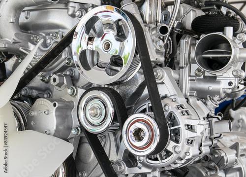 Część silnika samochodu Fototapeta
