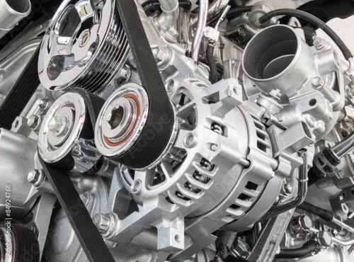 Carta da parati Part of car engine