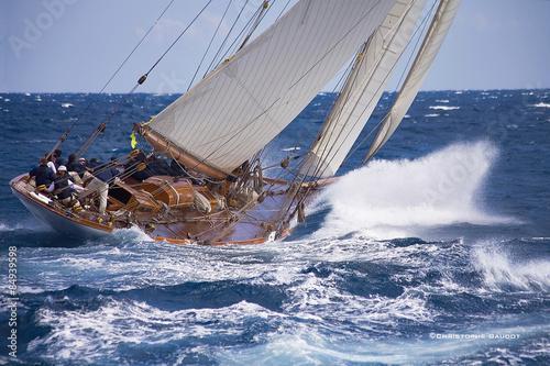 Carta da parati Sailing boat