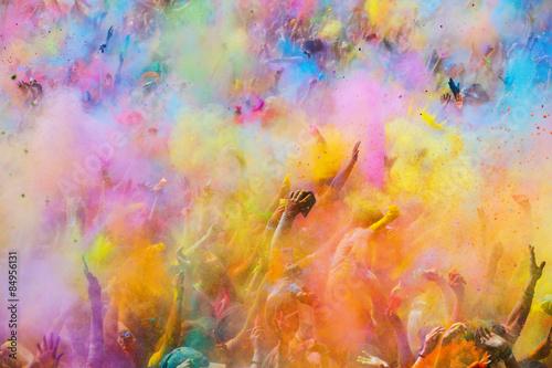 Stampa su Tela Festival de los colores Holi