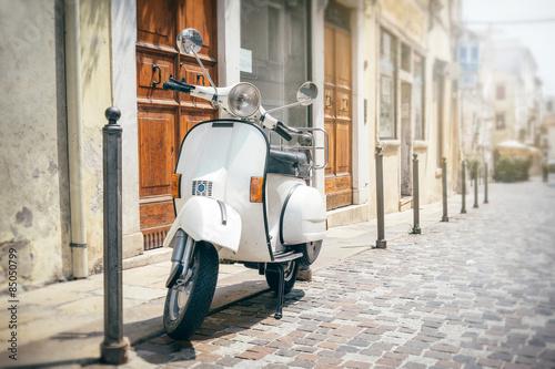 Canvas Print Vespa, Italian scooter