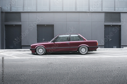 Canvas Print BMW E30