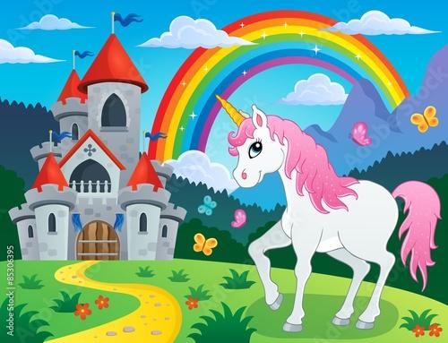 Fairy tale unicorn theme image 4