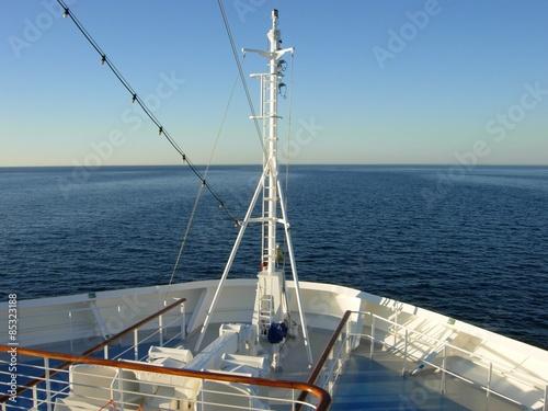 Stampa su Tela Bug von einem Kreuzfahrtschiff