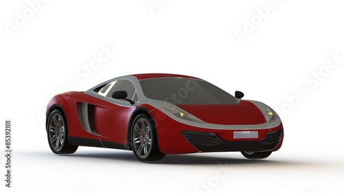 Photo fast expensive car