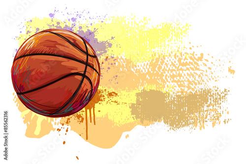 Wallpaper Mural Basketball Banner