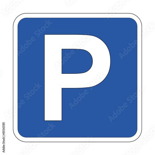 Obraz na plátně Icono parking
