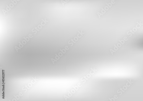 Stampa su Tela Shiny grey pearl gradient abstract background