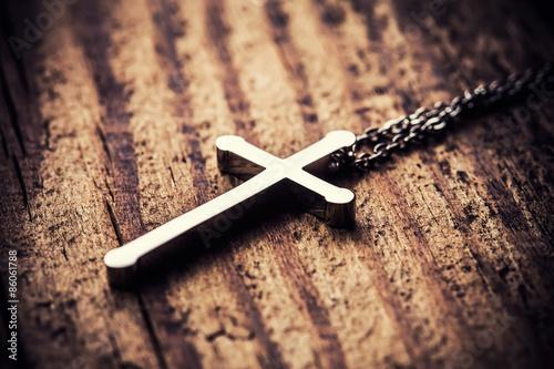 Fotografiet Silver cross
