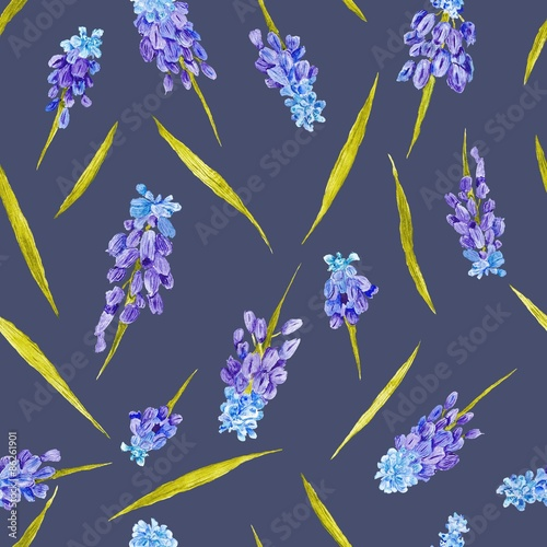 Fototapeta Provence Floral Motif Texture
