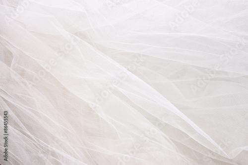 Photo Vintage tulle chiffon texture background. wedding concept