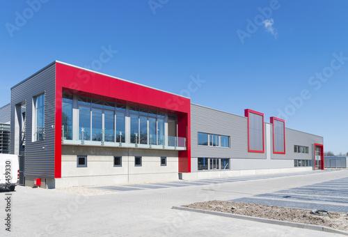 Vászonkép new office building