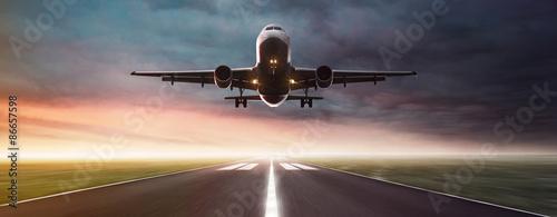 Cuadros en Lienzo Plane in Flight