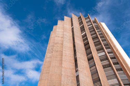 Caixa Economica Federal Headquarters Building in Brasilia