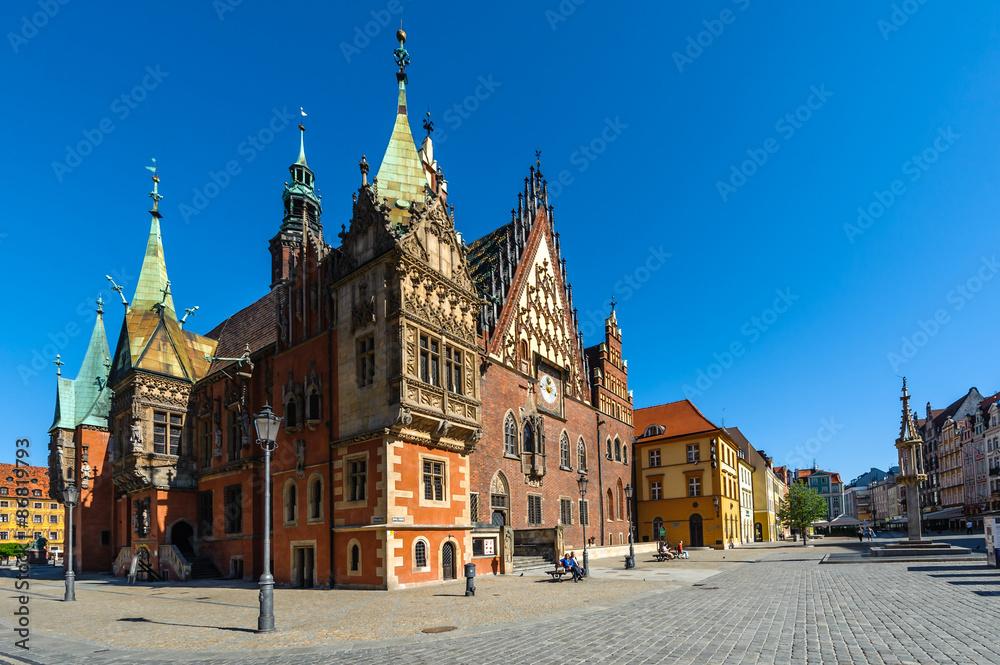 Wrocławski rynek <span>plik: #86819793   autor: kabat</span>