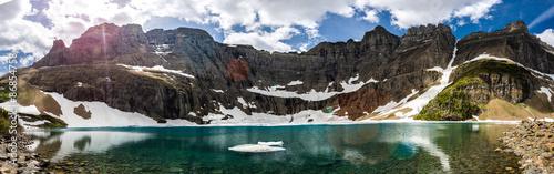 Fotografie, Obraz Iceberg Lake, Glacier National Park, MT