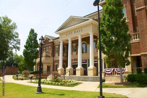 Tableau sur Toile City Hall