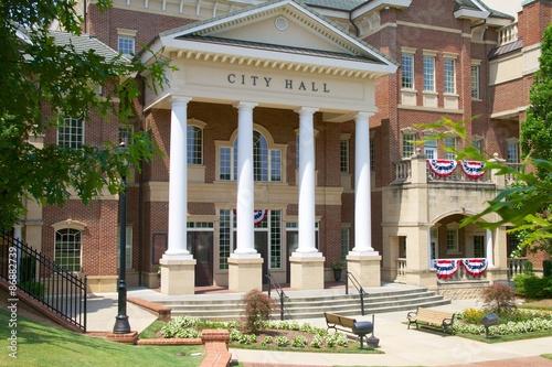 Vászonkép City Hall