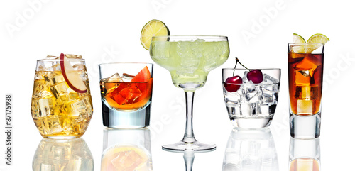 Various cocktails. #87175988