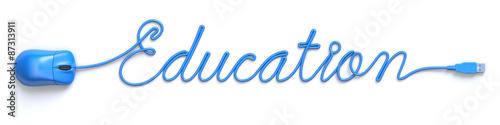 Education online concept #87313911