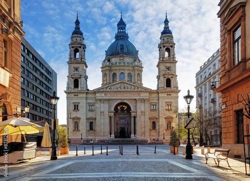 Obraz na płótnie Budapest - St. Stephen's Basilica, Hungary