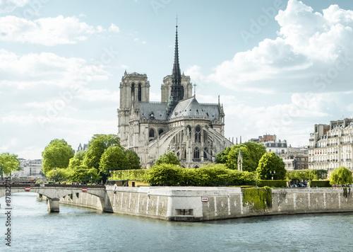 Fototapeta Notre Dame de Paris, Francie