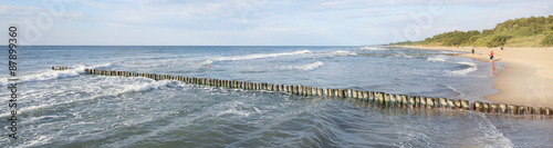 Panorama Bałtyk falochron #87899360
