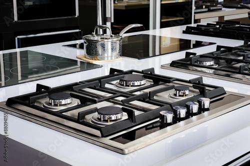 Slika na platnu Brand new gas stove