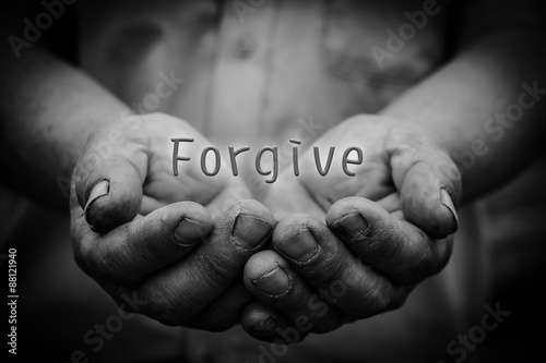 Fotografia Forgive