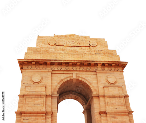 India Gate memorial in New Delhi, India