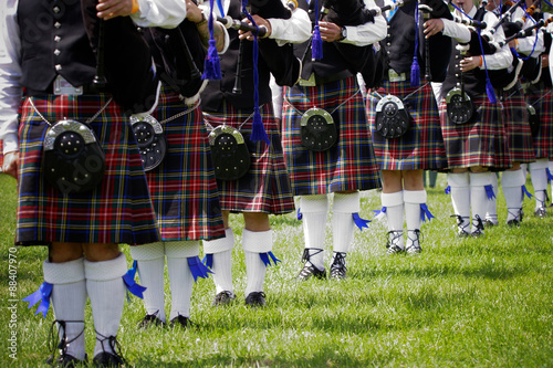 Slika na platnu Scottish bagpipe