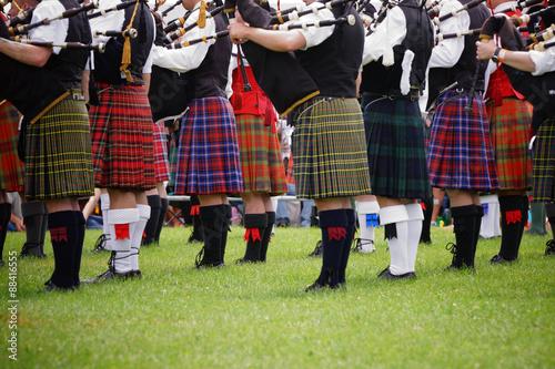 Tela Scottish bagpipe band