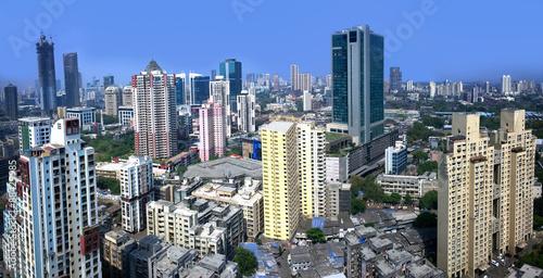 Canvas Print Mumbai Skyline