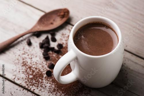 Wallpaper Mural hot chocolate