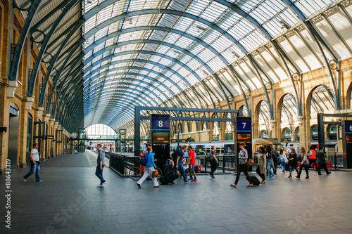 Kings Cross Station Fototapeta