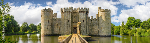 Fényképezés Bodiam Castle in England