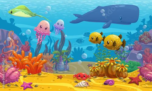 Photo Undersea landscape