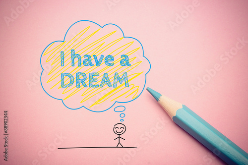 Canvas-taulu I have a dream