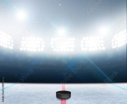 Photo Ice Hockey Rink Stadium
