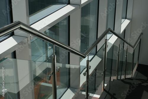 Stampa su Tela Лестница и окно