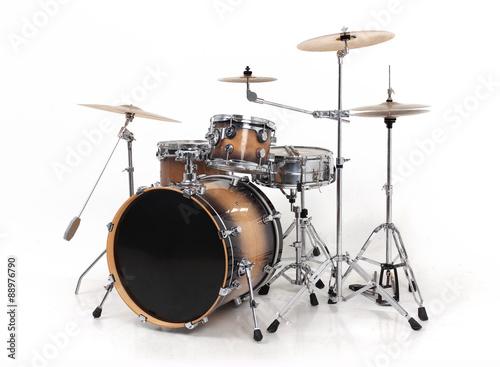 Canvas drum set