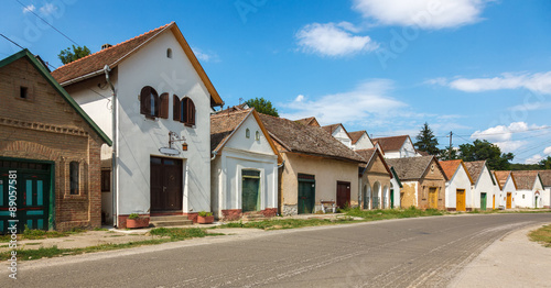 Wallpaper Mural Hungarian wine houses and basements