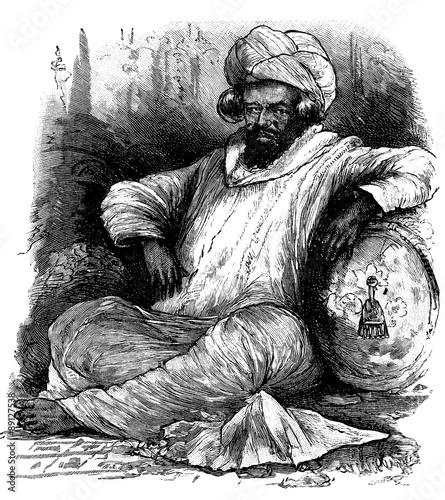 Obraz na plátně Sultan - Traditional Arabian