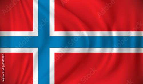 Fotografija Flag of Norway