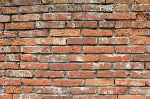 Fototapeta premium mur z czerwonej cegły