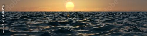 Sunrise Ocean Panorama