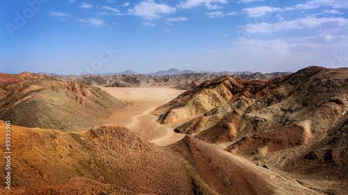 Egyptian desert of stones #89393961