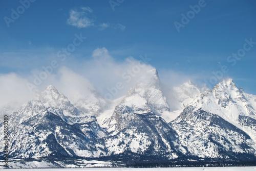 Fotografiet Grand Teton / Grand Teton Mountain in Wyoming