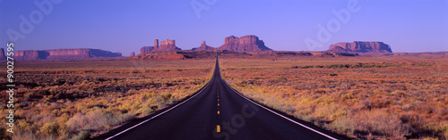 Photo This is Route 163 that runs through the Navajo Indian Reservation